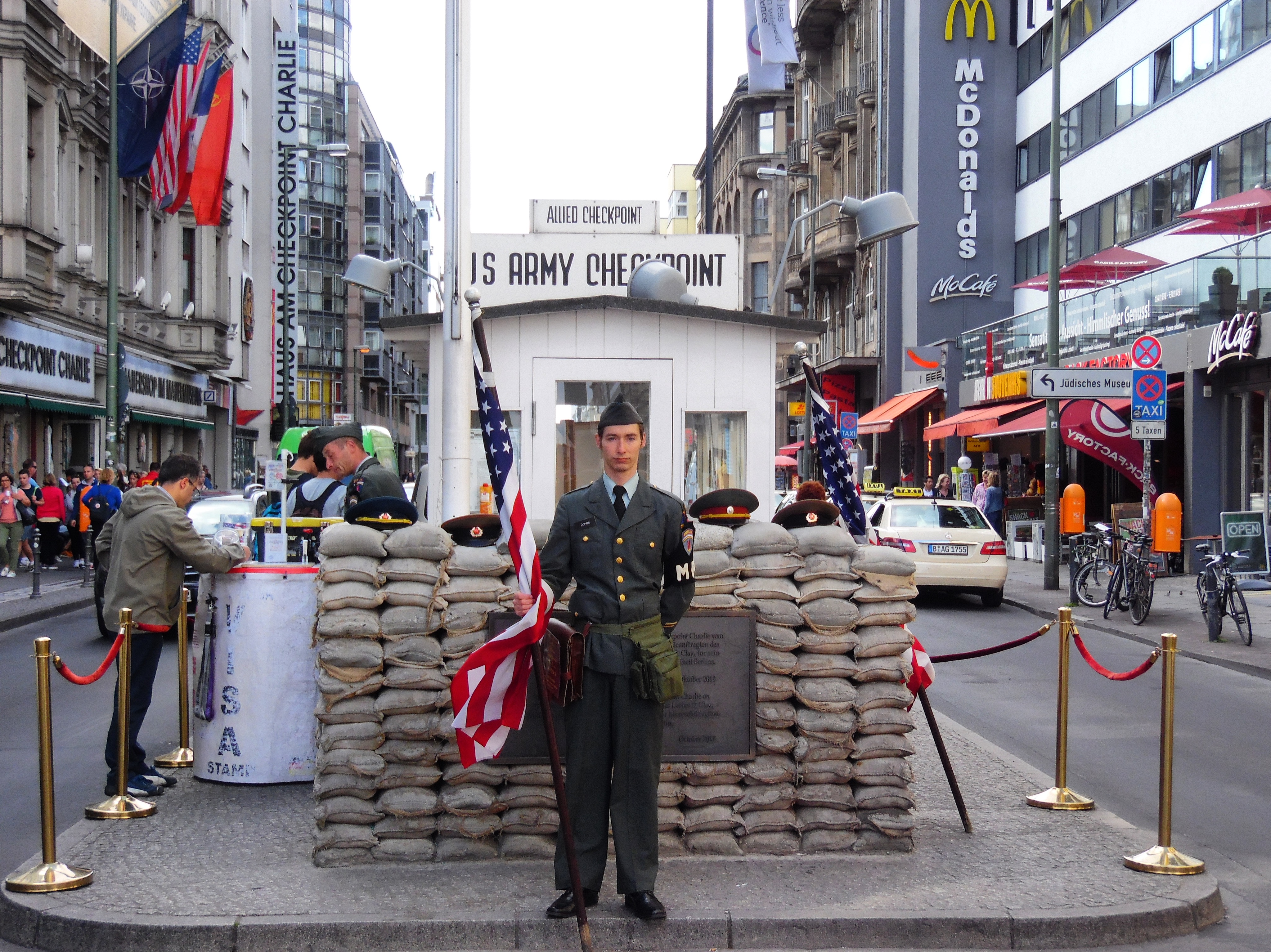 Inspire a Visit to Berlin Checkpoint Charlie
