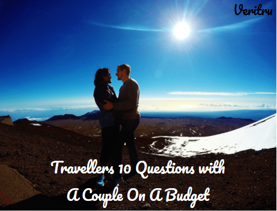 Travellers 10 Questions a couple on a budget