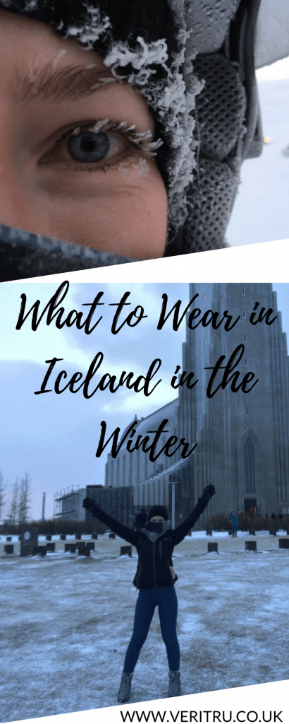What to Wear in Iceland in the Winter - Veritru - So you've booked a holiday to Iceland and now you're thinking about what to wear in Iceland in the winter! Check out my list of items to keep you warm.