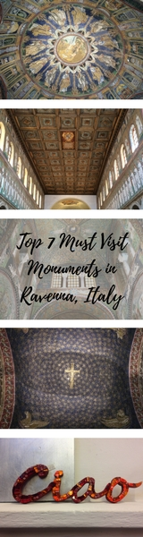 Top 7 Must Visit Monuments in Ravenna, Italy - Ravenna is best known for it's range of beautiful mosaics of which there are many! Here's my route to view the best monuments in Ravenna including Basilica di Sant'Apollinare Nuovo, Battistero Neoniano, Mausoleo di Galla Placidia, Archiepiscopal Museum, Battistero degli Ariani, Basilica di San Vitale and Dante's Tomb. - Veritru