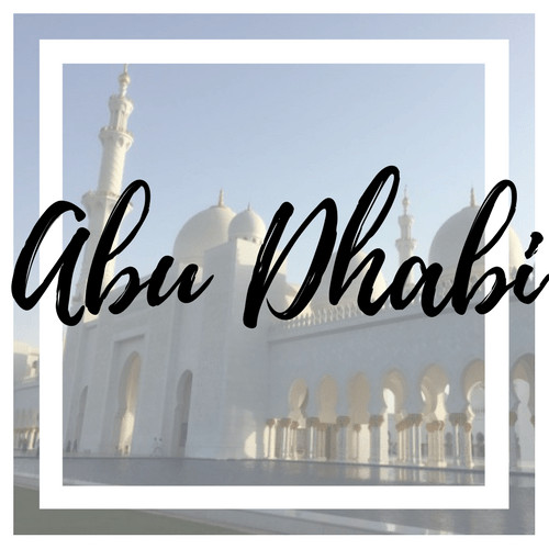 Abu Dhabi - Where I've Been - Veritru
