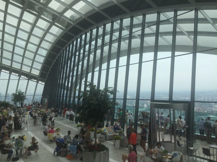 Sky Garden - Veritru - The Best Things To Do In London