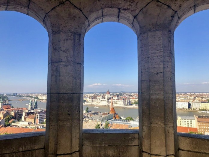 Walking Tour Budapest - The Best Joint Hen/Stag Do in Budapest - Veritru - View from Fisherman's Bastion