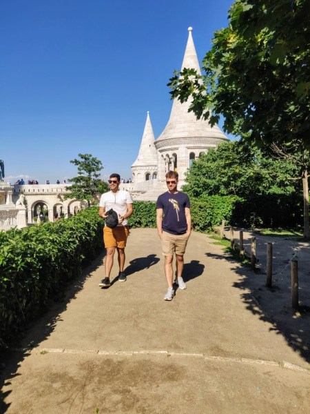 Squad! Walking Tour Budapest - The Best Joint Hen/Stag Do in Budapest - Veritru - View from Fisherman's Bastion