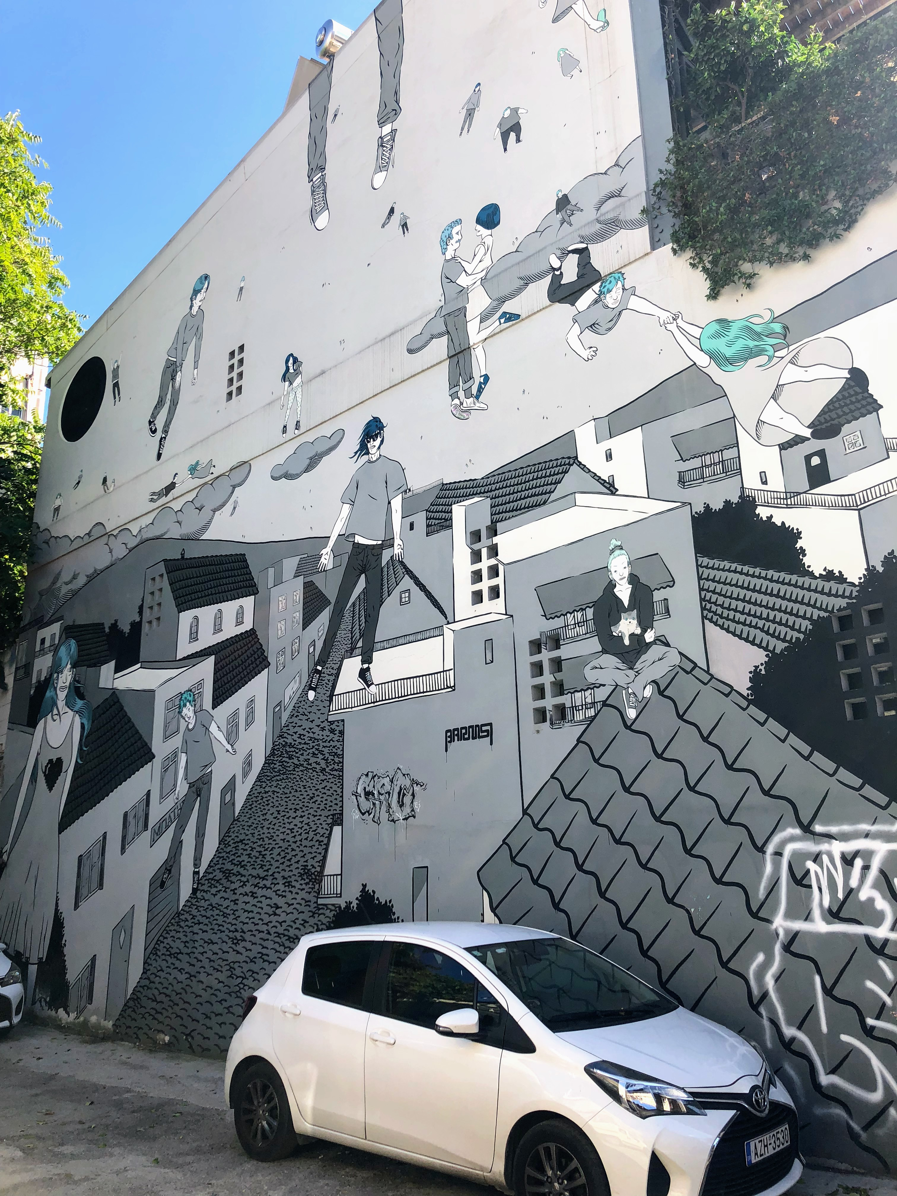Streets, Shops and Street Art Psyri - Athens, Greece, Europe - Honeymoon Part 1 - Athens is a beautiful capital city rich with history. With it's impressive Acropolis and quaint pedestrian streets, we headed here for our Honeymoon Part 1! Veritru Travel Blog