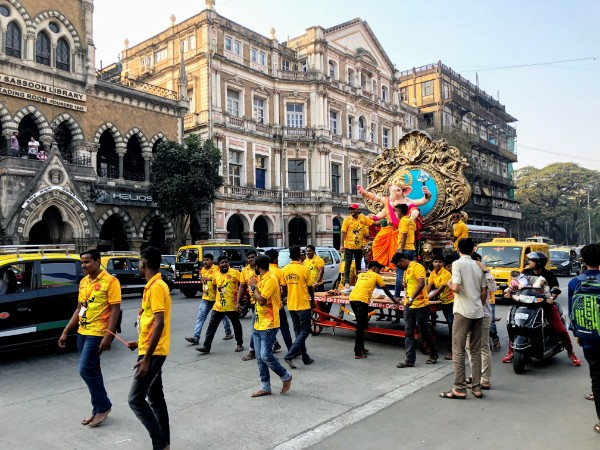 Ganesh Street Float - Veritru - Mumbai, India