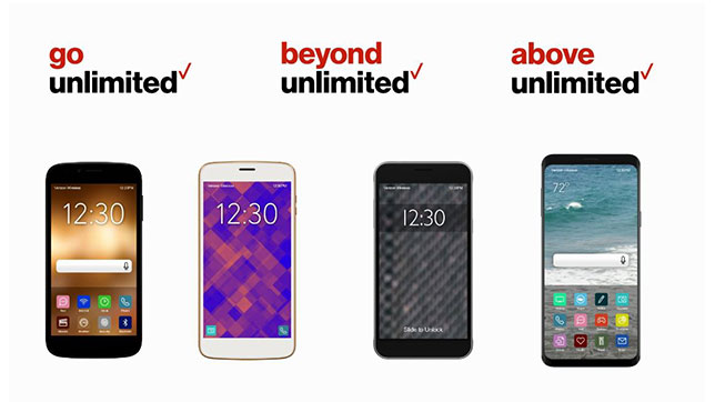 Verizon Unlimited Mix & Match Plans