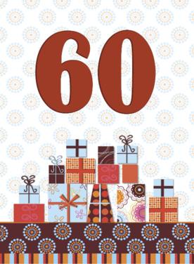 Populair Verjaardagswensen 60 jaar ⋆ Gefeliciteerd 60 jaar teksten! &HR87