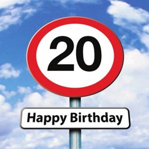 Verjaardag Man 20 Jaar.Gefeliciteerd 20 Jaar Felicitatie Verjaardagswens 20 Jaar