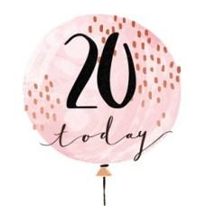 Gefeliciteerd 20 jaar