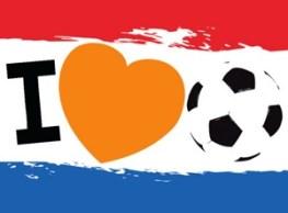 Ik hou van voetbal kaart