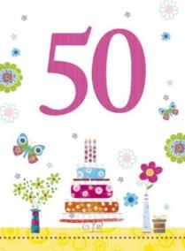 Verjaardag 50 jaar