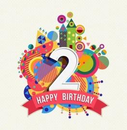 Verjaardag 2 jaar