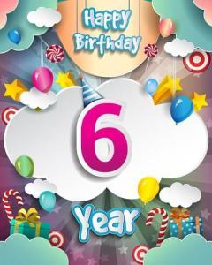 Verjaardag 6 jaar