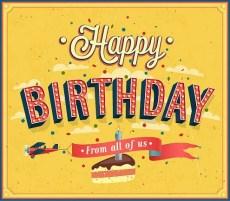 Gefeliciteerd met je verjaardag tekst