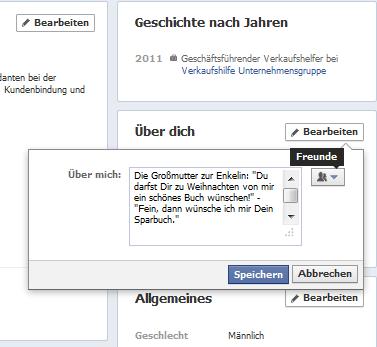 facebook berechtigungen