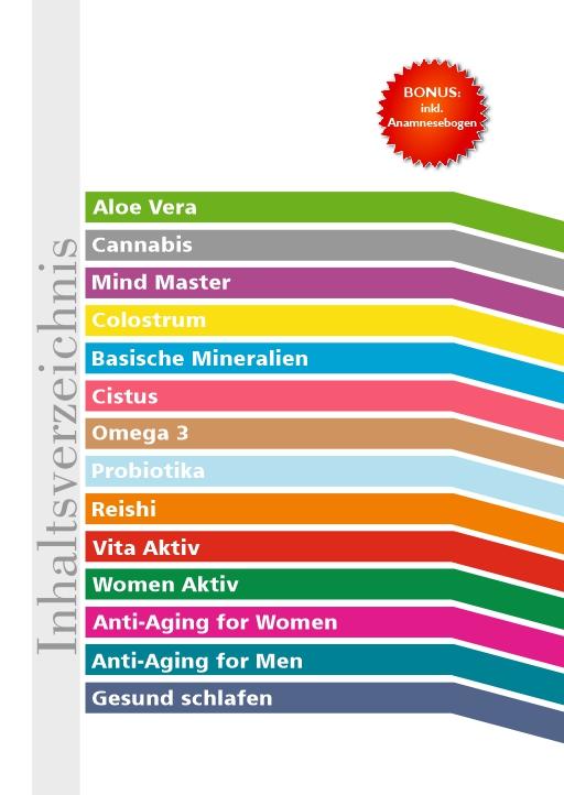 Vitalbroschüre 5. Auflage Inhalt
