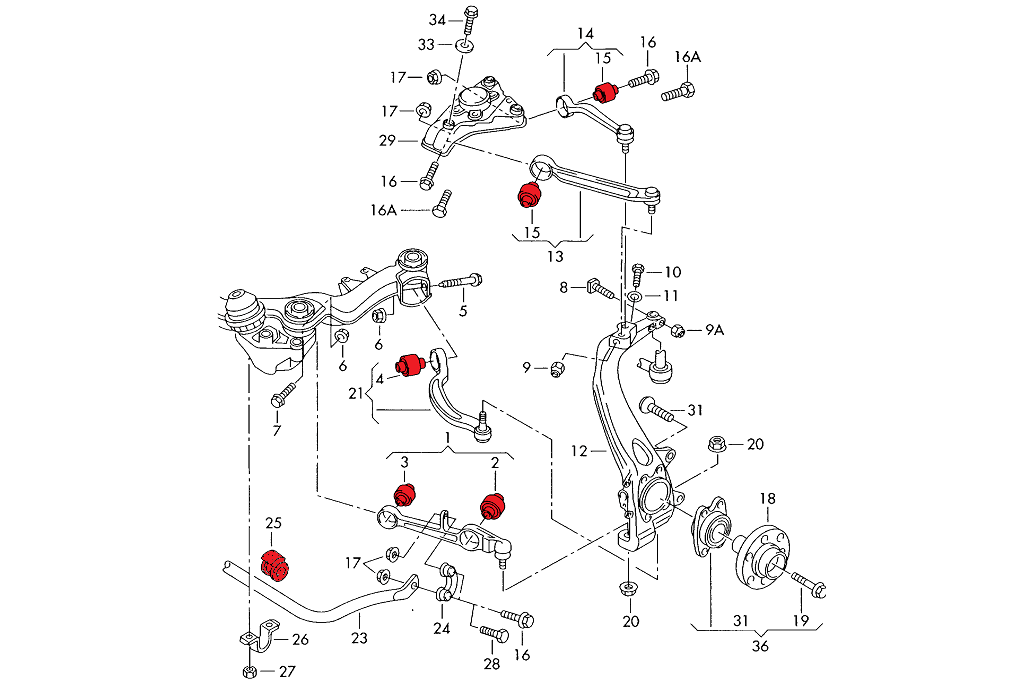 S4 Diagram. audi s4 radiator components oem parts. tag for