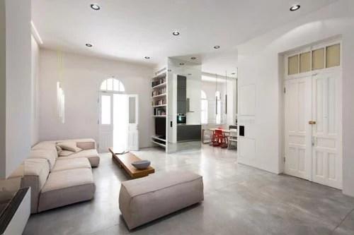 verlaagd plafond woonkamer