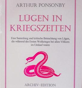 Arthur Ponsonby: Lügen in Kriegszeiten