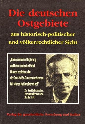 Roland Bohlinger: Die deutschen Ostgebiete aus historisch-politischer und völkerrechtlicher Sicht