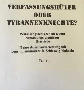 Roland Bohlinger: Verfassungshüter oder Tyrannenknechte? Teil I + II