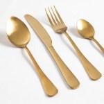 Gold Besteck Verleih Und Dekoration