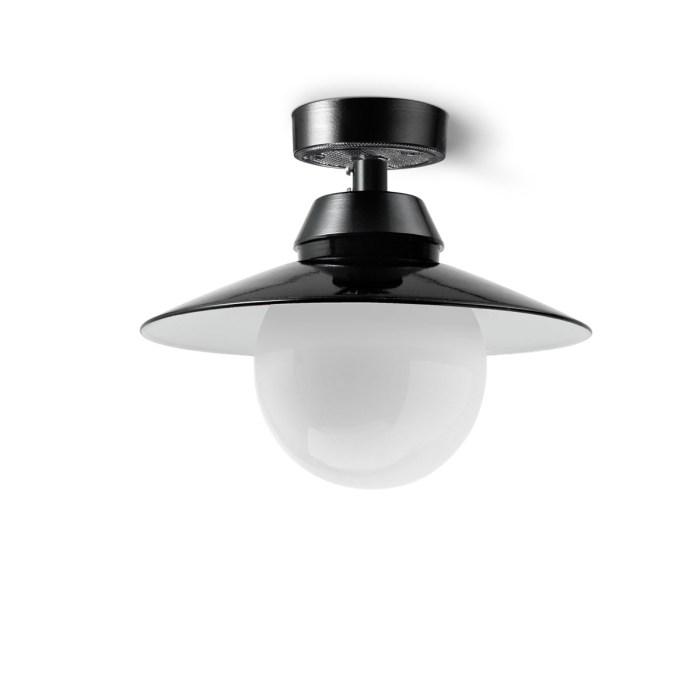 Bremen Kugel plafondlamp industrieel - Verlichting van Toen
