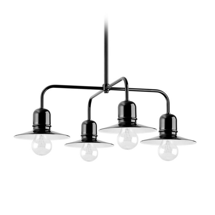 Ebolicht Bingen IV hanglamp - Verlichting van Toen