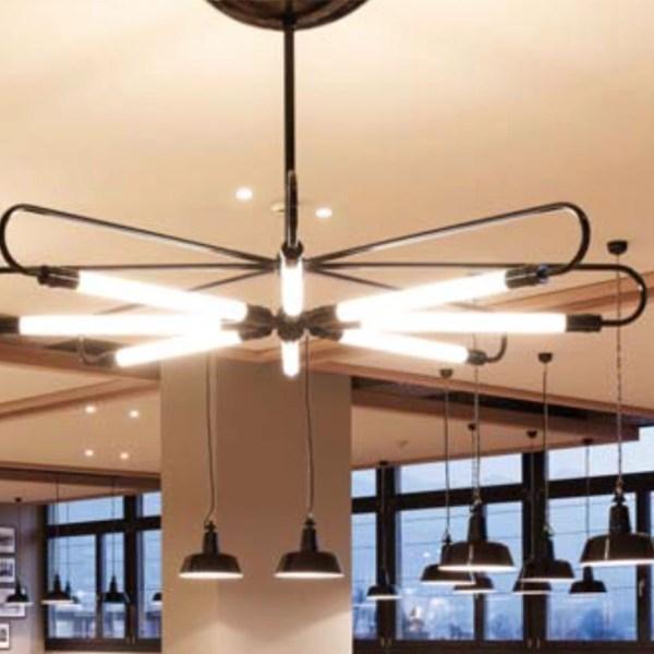 sfeerbeeld Mannheim Kruis design hanglamp - Verlichting van Toen
