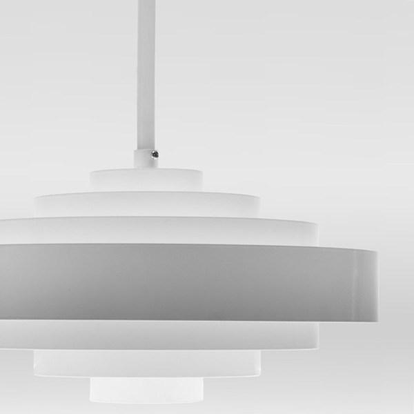 Circular hanglamp wit - Verlichting van Toen