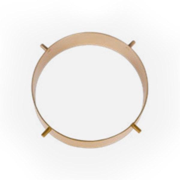 Detail ring Cup hanglamp - Verlichting van Toen