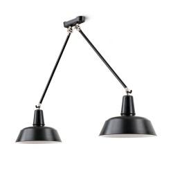 Eettafel lampen: Berlin II hanglampen boven de eettafel - Verlichting van Toen