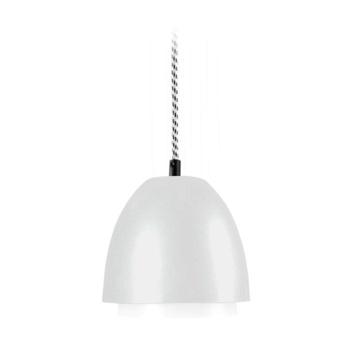 ebolicht-hanglamp-cup-lichtgrijs met textiel zwart wit