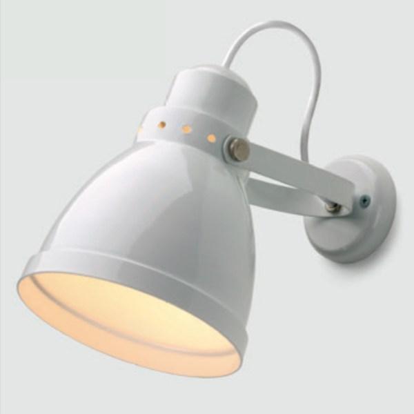 Rotterdam wandlamp RAL 9010 wit - Verlichting van Toen
