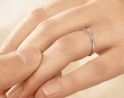 Verlobungsringe gnstig ab 129  mit Diamant online kaufen