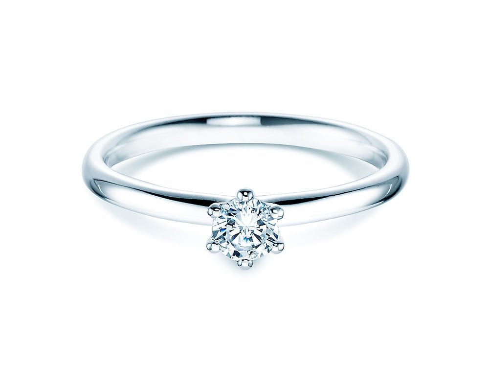 Weissgold Ring Goldschmied