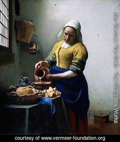 kitchen maid cabinet kings jan vermeer van delft the complete works