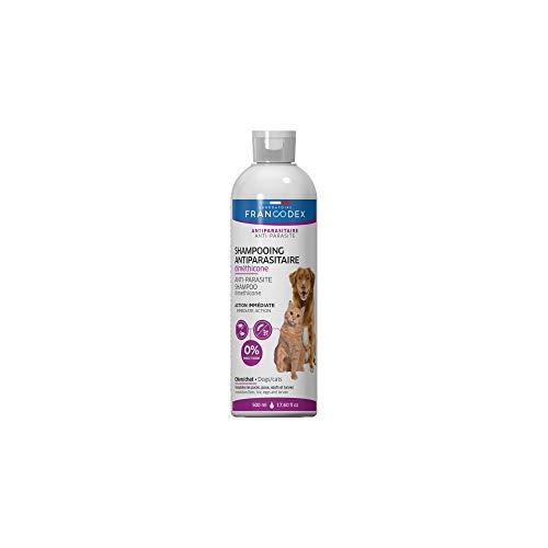 Francodex – 500ml Shampooing Antiparasitaire Diméthicone pour Chiens et Chats – FR-172467