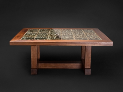 Marcos Coffee Table with Tile Top