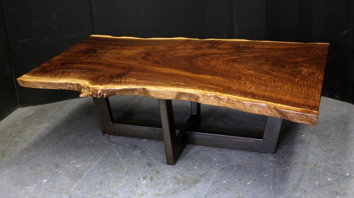 Redwood  Painted Steel Coffee Table  Dorset Custom
