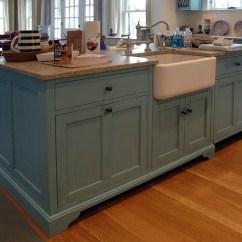 Farmhouse Kitchen Sink For Sale Chalkboard Wall Painted Pine Desk Cabinet   Dorset Custom Furniture Dan ...