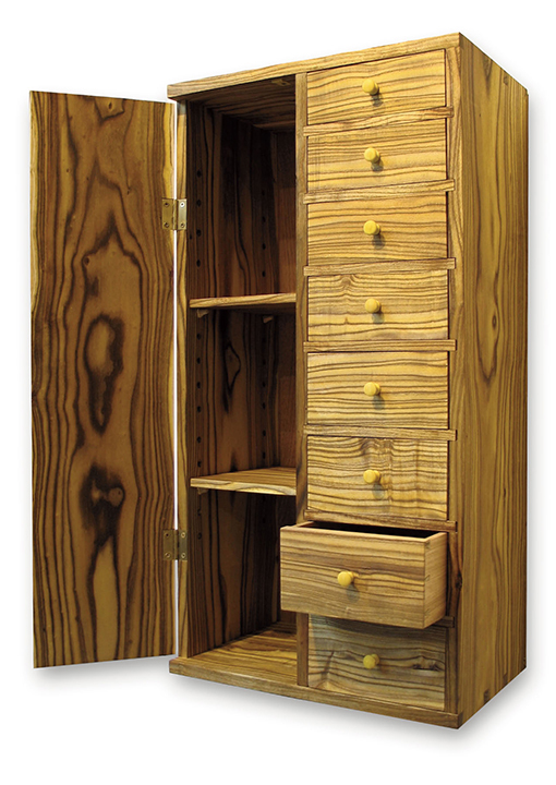 Custom Cabinet Gives New Meaning to the Phrase Backyard Treasure