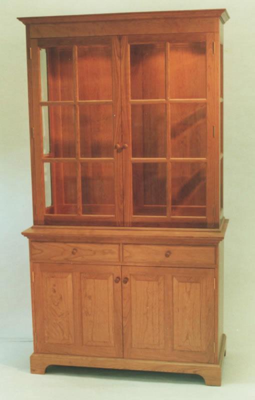 Cherry Wood Used Cherry Wood China Cabinet