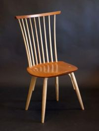 Modern Windsor Side Chair | Guild of Vermont Furniture Makers