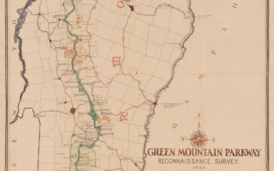 green mountain national forest protects 400,000 acres of the range. Getting From Here To There A History Of Roads And Settlement In Vermont Vermont Humanities