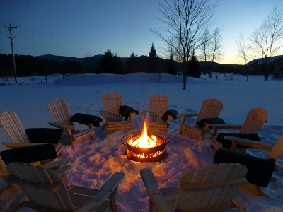 Stowe Log Cabin vacation rental house in Stowe VT