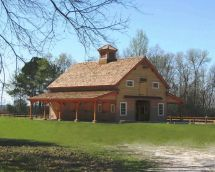 Exterior Timber Frame Barn