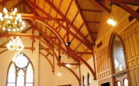 Historic Church Timber Roof Truss | Beautiful Arched Beams ...