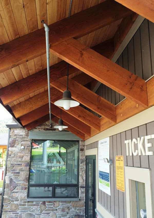 Ski Resort Timber Framing - Vermont Works